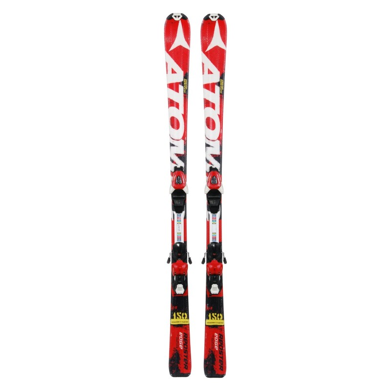 Ski occasion junior Atomic Redster Edge + Fixations - Qualité A