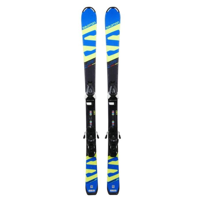 Gebrauchte Junior Ski Salomon XRACE JR + Befestigungen