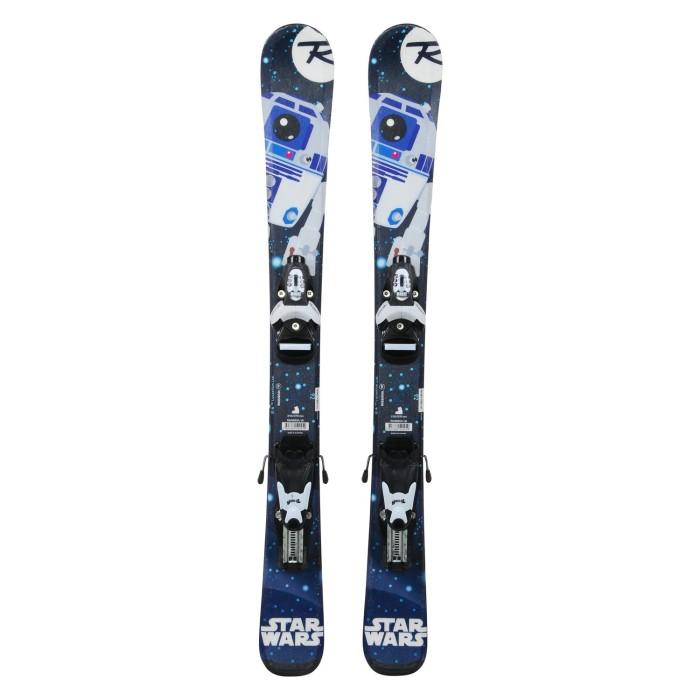 Ski Junior Opportunity Rossignol Star Wars R2D2 - fijaciones
