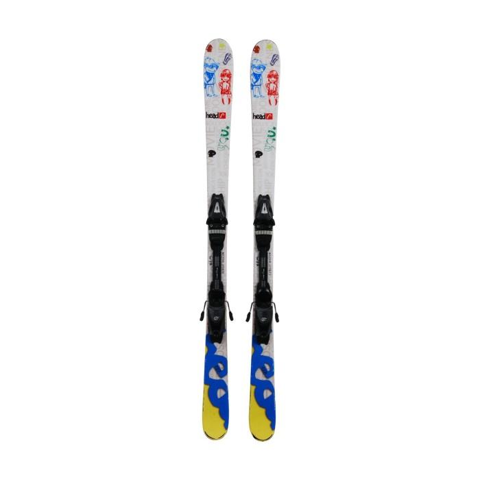 Ocasión de esquí junior Head You - Fijaciones