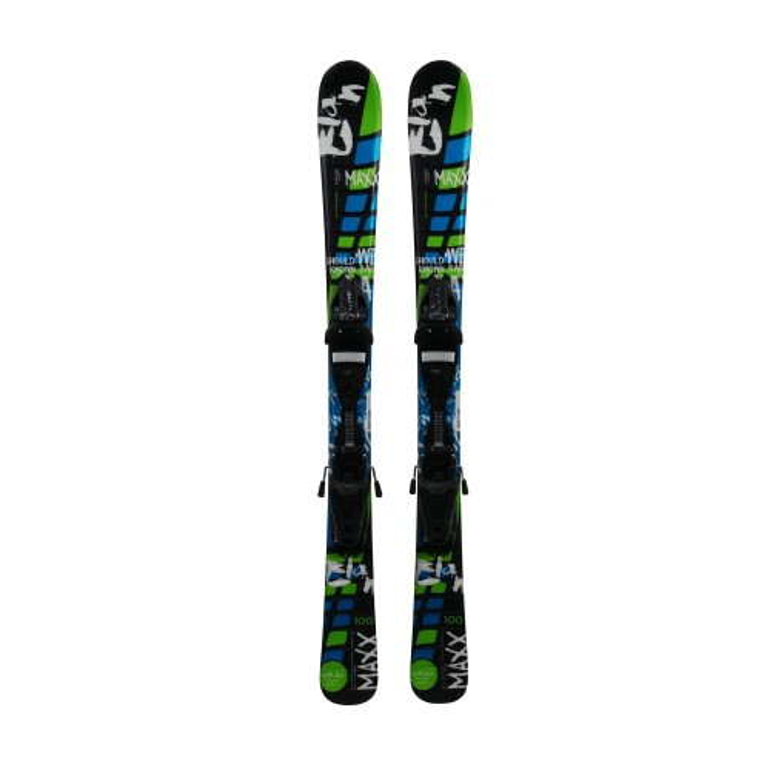 Ski occasion junior Elan Maxx QT + Fixations