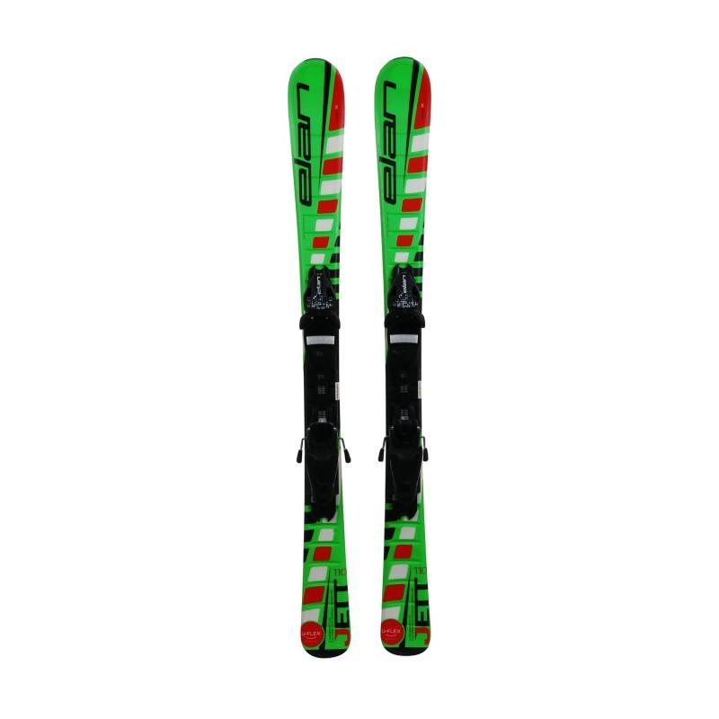 Ski occasion junior Elan Jett + fixations - Qualité A