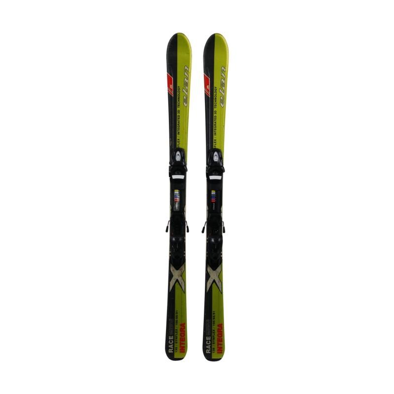 Ski occasion junior Elan Integra Race + fixations - Qualité A