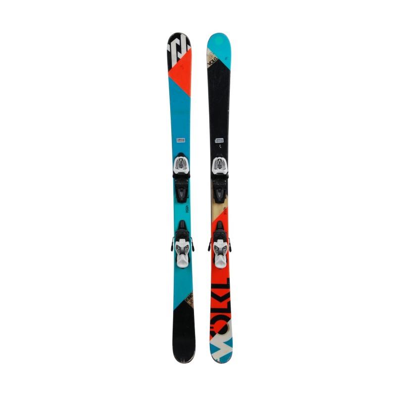 Ski occasion junior Volkl Kink Jr + fixations - Qualité B