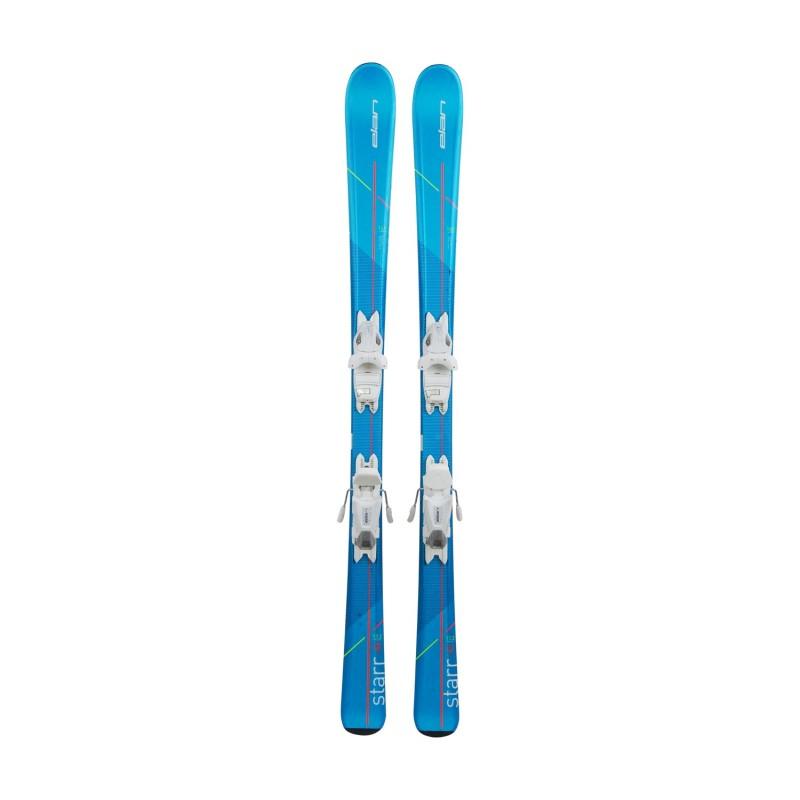 Ski occasion junior Elan Starr + fixations - Qualité A