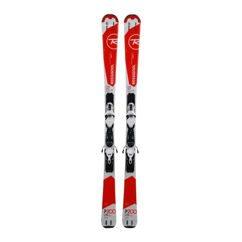 Ski Rossignol Pursuit 200 LTD Ca occasion + fixations - Qualité A