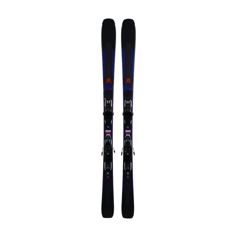 Ski Salomon XDR 76 STR occasion + fixations - Qualité A