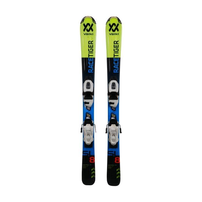 Ski für Junior Volkl racetiger SL + Befestigungen