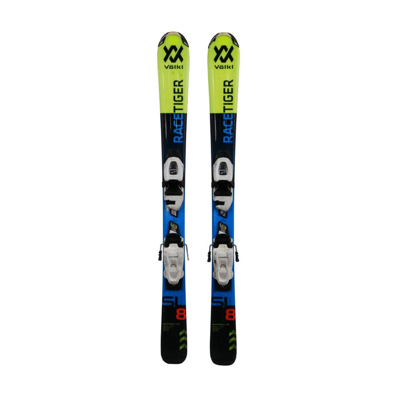 Ski occasion junior Volkl racetiger SL + fixations - Qualité A