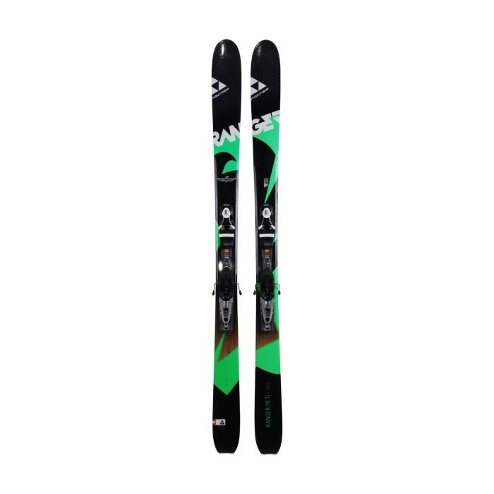 Gebrauchte Skier Fischer Ranger 98ti + Befestigungen