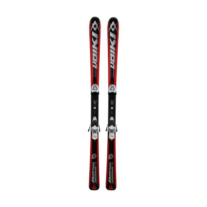 Junior-Skifahren Volkl Racetiger Junior GS + Befestigungen