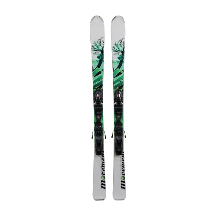Ski usado Movement Element Air blanco/verde - fijaciones