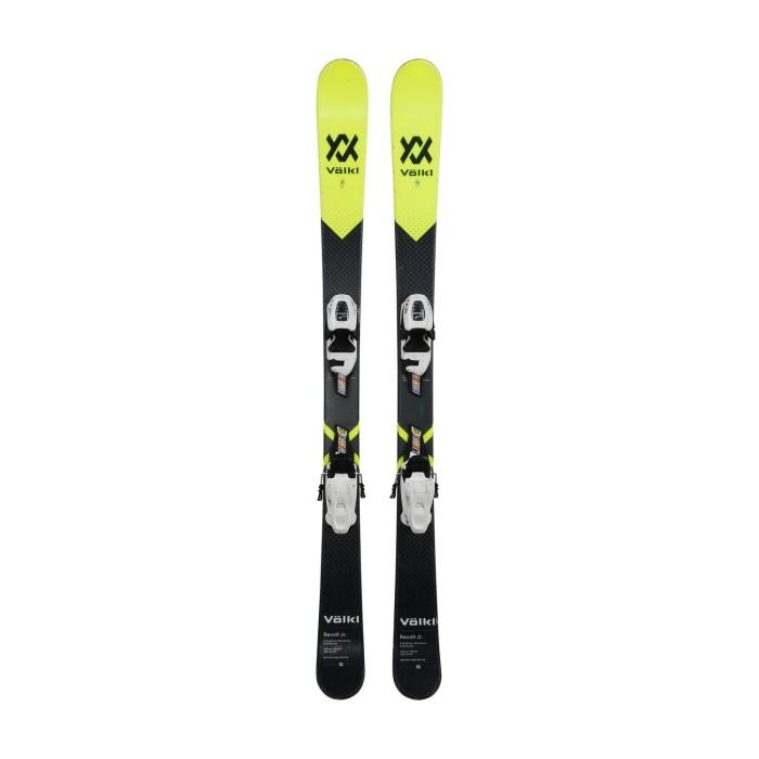 Gebrauchte Ski junior Volkl Revolt JR + Befestigungen