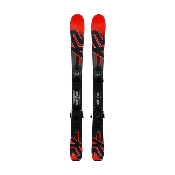 Ski occasion junior K2 indy + fixations