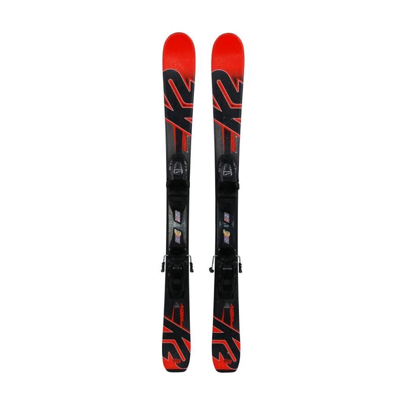 Ski occasion junior K2 indy + fixations - Qualité A