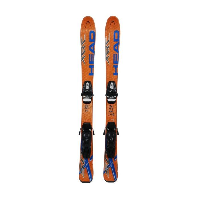 Skier Junior Head XRC 50 orange + Befestigungen