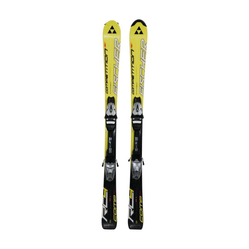Ski occasion junior Fischer Competition RC + fixations - Qualité A