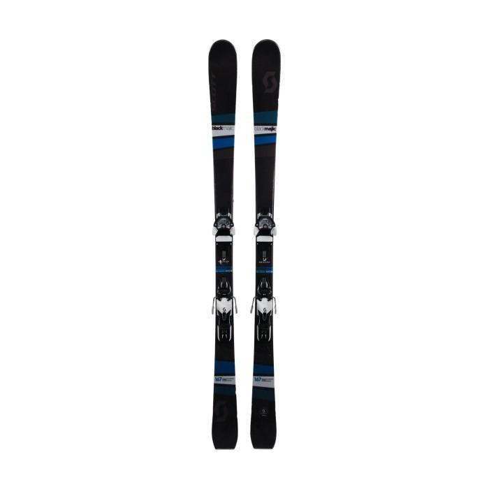 Gebrauchte Scott Black Magic Ski + Befestigungen