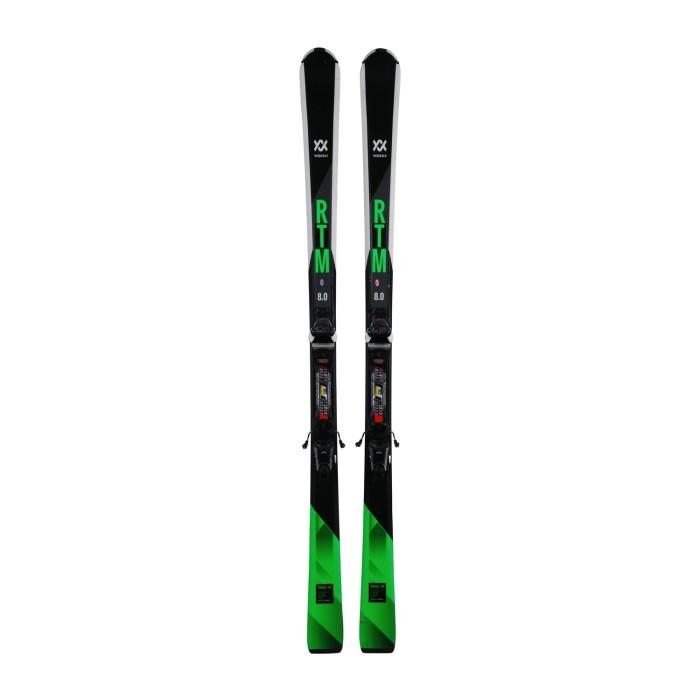 Esquí usado Volkl RTM 8.0 - fijaciones