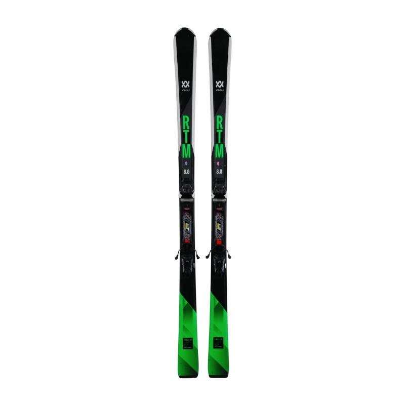 Ski occasion Volkl RTM 8.0 + fixations - Qualité A