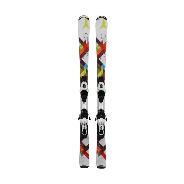 Ski occasion junior Atomic Affinity multicolor - fijaciones