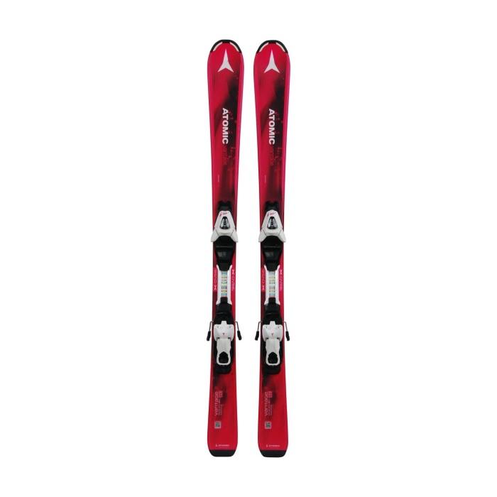 Gebrauchte Skier Junior Atomic Vantage + Befestigungen