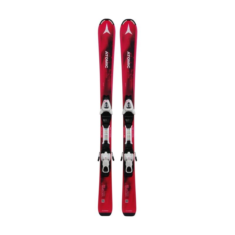 Ski occasion Junior Atomic Vantage + fixations - Qualité A
