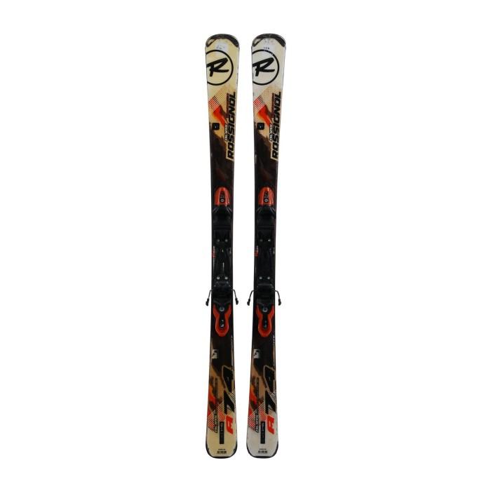 Gebrauchte Ski Rossignol alias 74 composite + Befestigungen