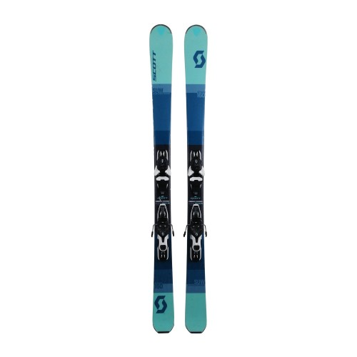 Gebrauchte Scott SUW Ski + Befestigungen