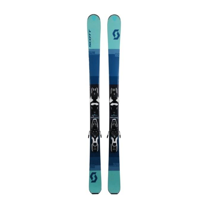 Ski occasion Scott SUW + fixations