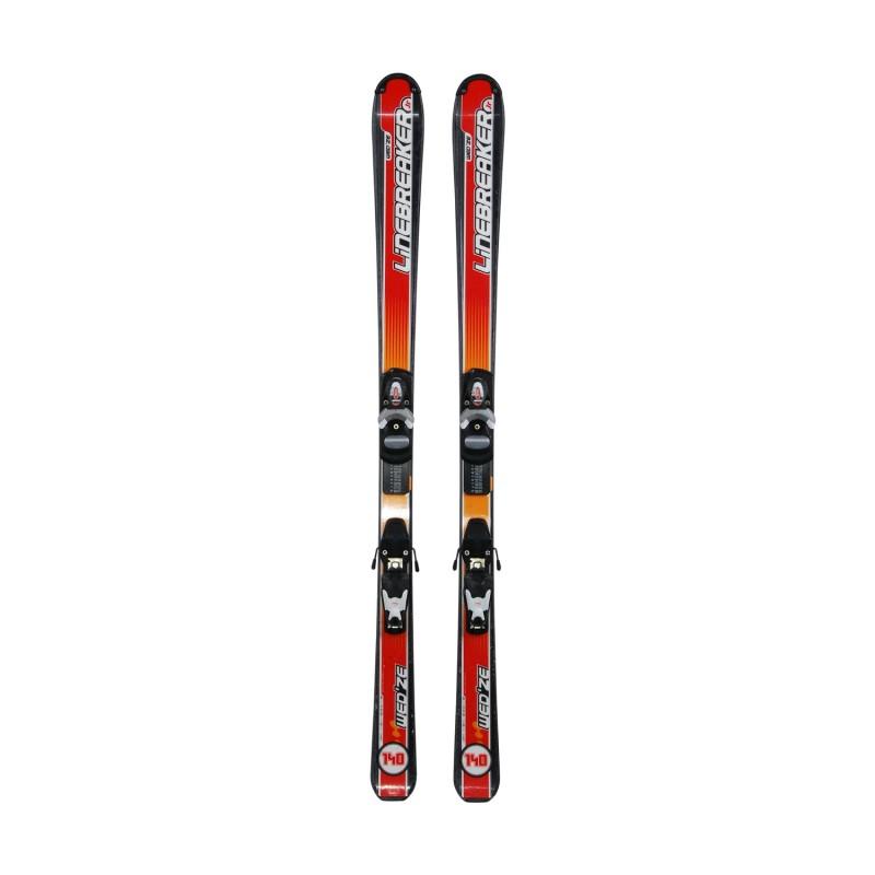 Ski occasion junior Wedze Linebreaker + fixations - Qualité A