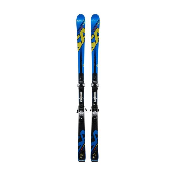 Ski junior opportunity Salomon 2V Powerline - fijaciones