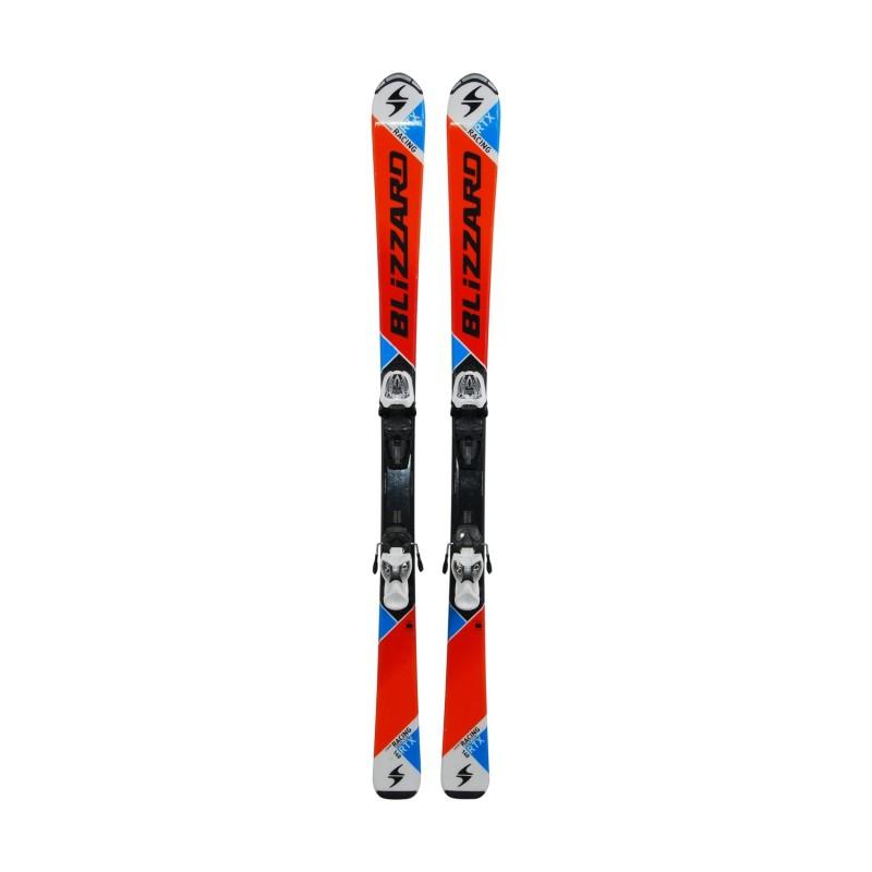 Ski occasion junior Blizzard RACING RTX + fixations - Qualité A