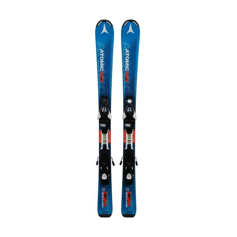 Ski occasion Junior Atomic Vantage JR II + fixations - Qualité A