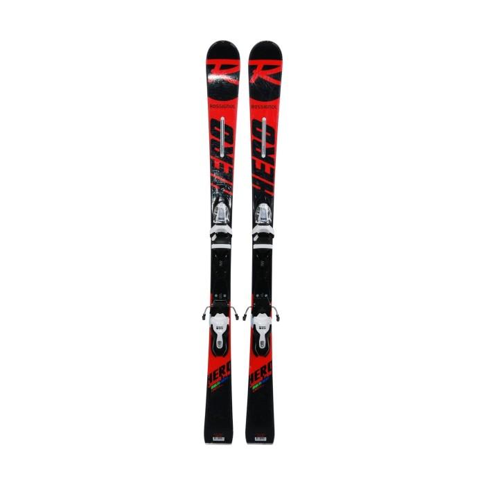 Ski junior ocasión Rossignol héroe Junior Pro Multi Event - fijaciones