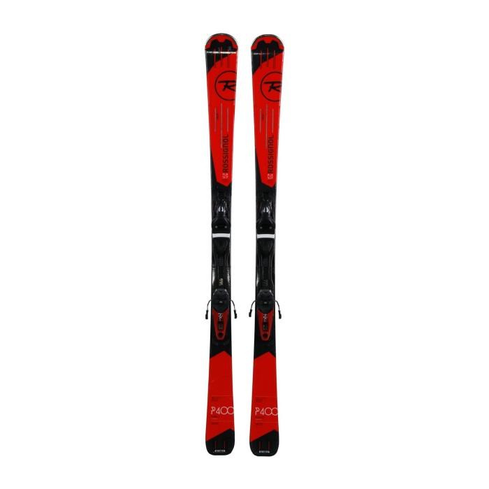Ski utilizado Rossignol Pursuit 400 carbono - fijaciones