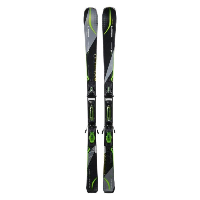 Gebrauchte Ski Elan Amphibio 10 + Befestigungen