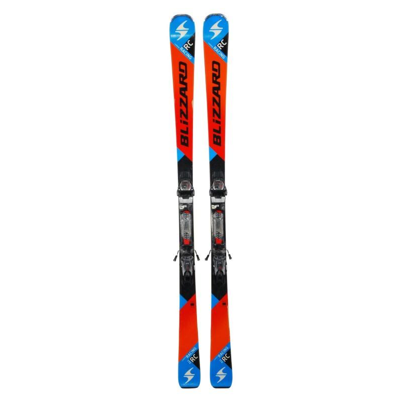 Ski occasion Blizzard Racing Carbon RC + fixations - Qualité B