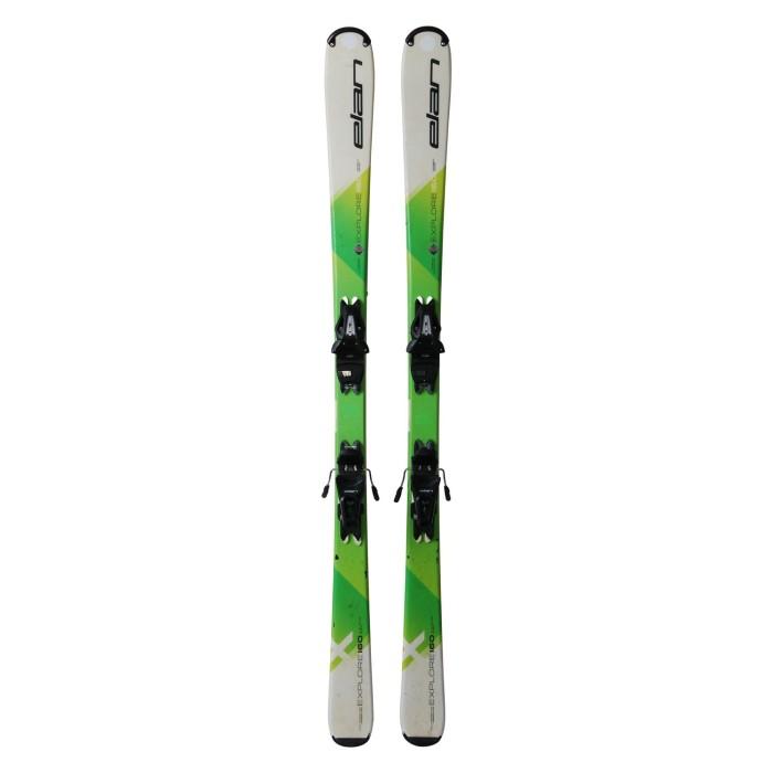 Gebrauchte Ski Elan Explore X + Befestigungen