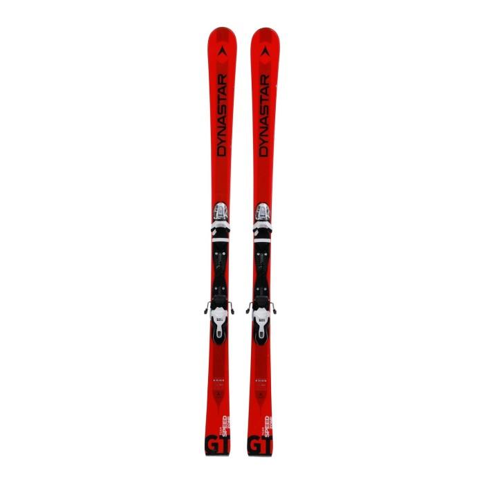 Gebrauchte Skifahren Junior Dynastar Team Speed Zone GT + Befestigungen