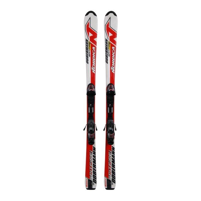 Ski für Junior Nordica Dobermann spitfire J + Befestigungen