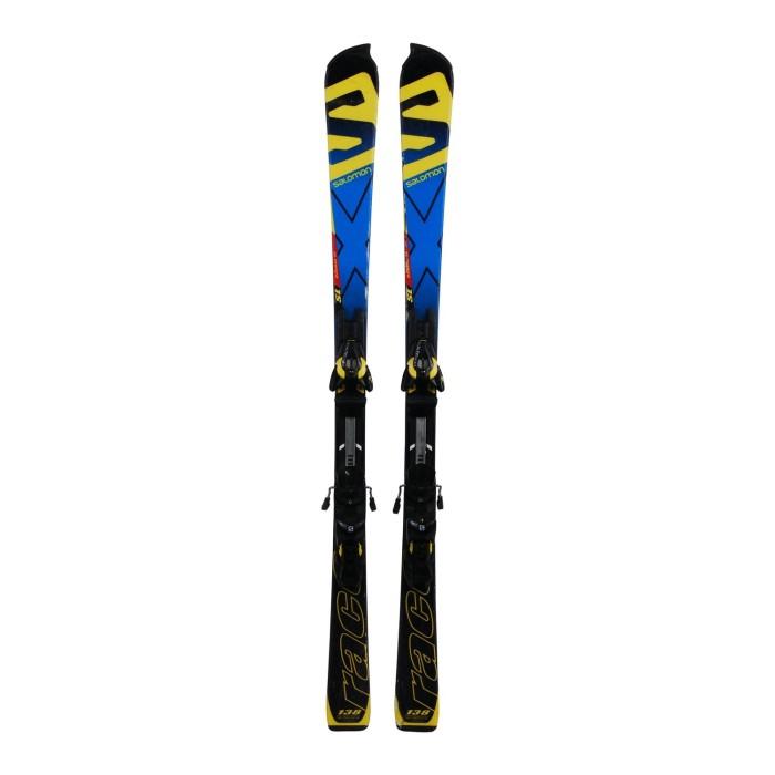 Ski junior opportunity Salomon Race SL Double TI - fijaciones