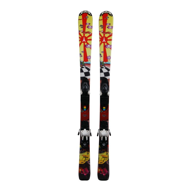 Ski occasion junior Atomic rascal + fixations - Qualité B