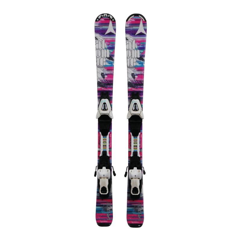 Ski occasion Junior Atomic Vantage + fixations - Qualité C
