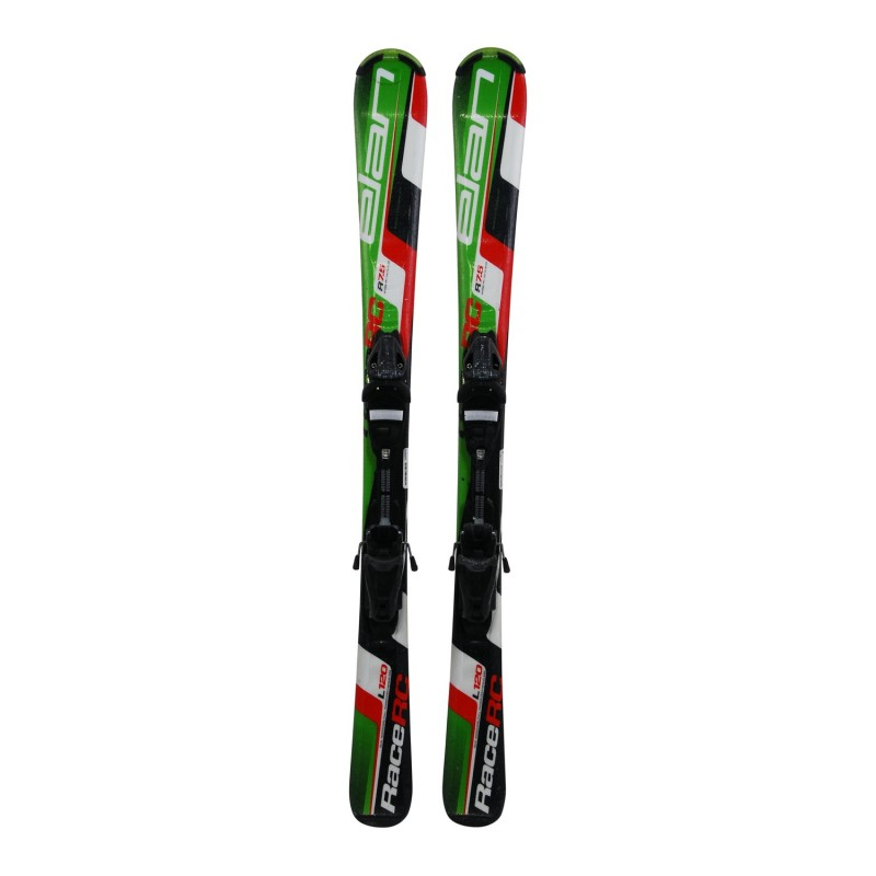 Ski occasion Junior ELAN RACE RC + fixations - Qualité A