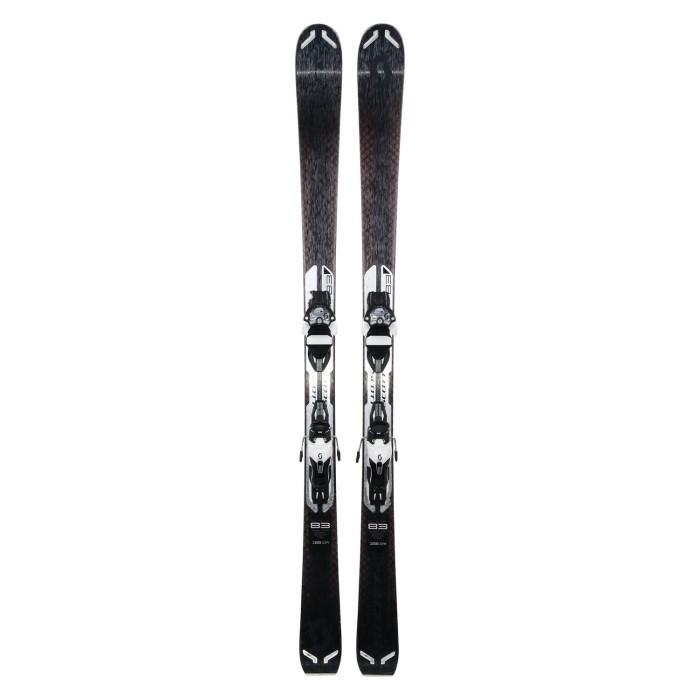 Gebrauchte Ski Scott Slight 83 + Befestigungen