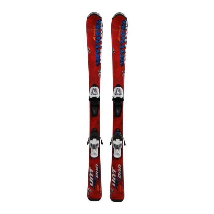 Ski occasion junior Nordica Hot Rod + fixations