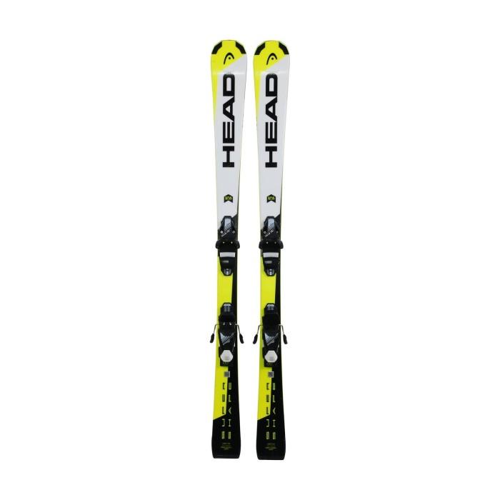 Ski für Junior Head Supershape Era 2.0 + Befestigungen