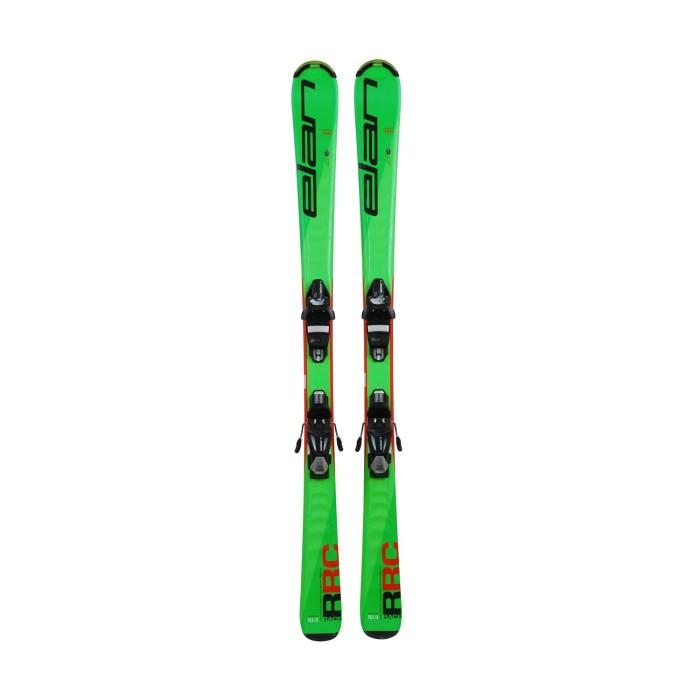 Gebrauchte Skier Junior ELAN RACE RC + Befestigungen
