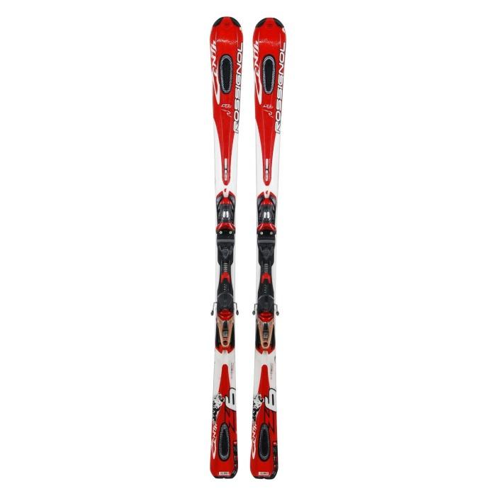 Esquí utilizado Rossignol Zenith 6 rojo - Fijaciones